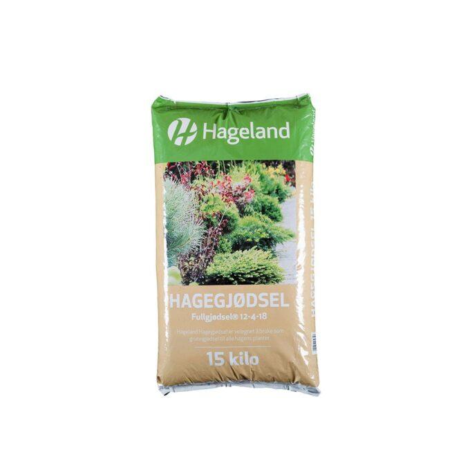 pose med Hageland hagegjødsel 15 kg