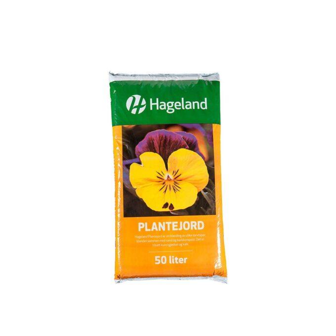pose med Hageland plantejord 50 liter