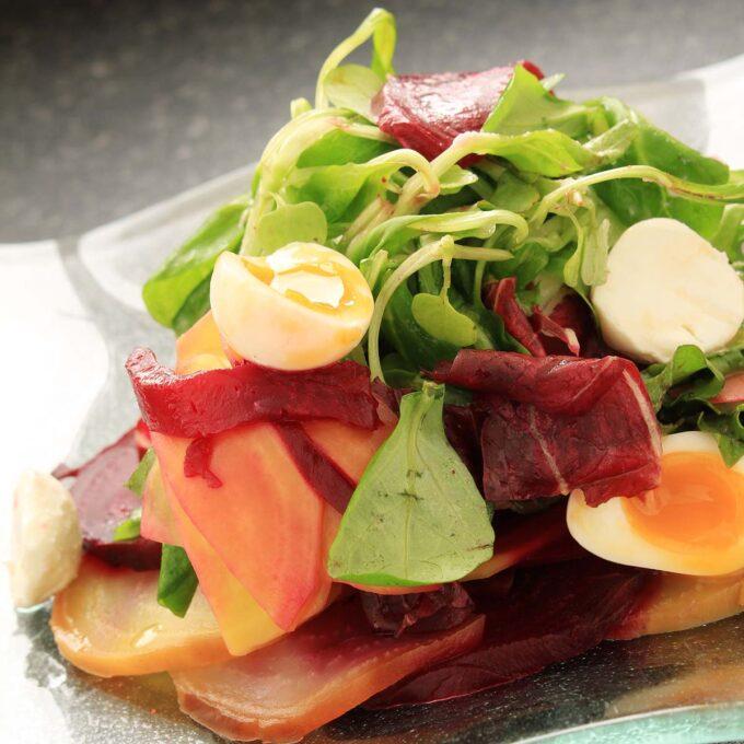 Brønnkarse i salat