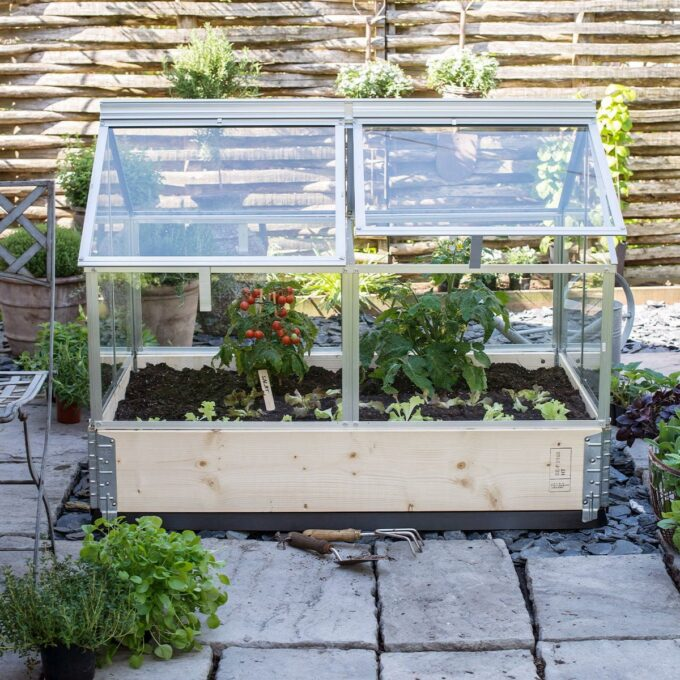Balkong drivhus m/glass, Gaia