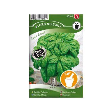 Nelson Garden frøpakke - Basilikum salat, Large leaved