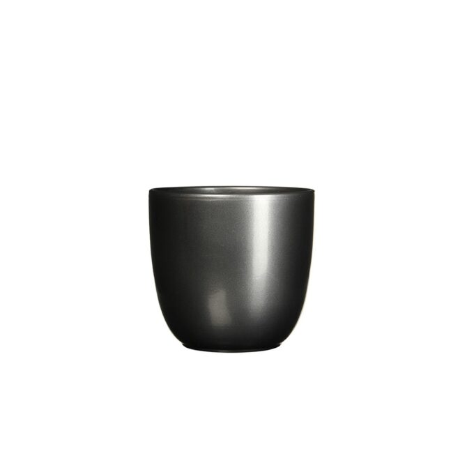sort blank blomsterpotte 10 cm