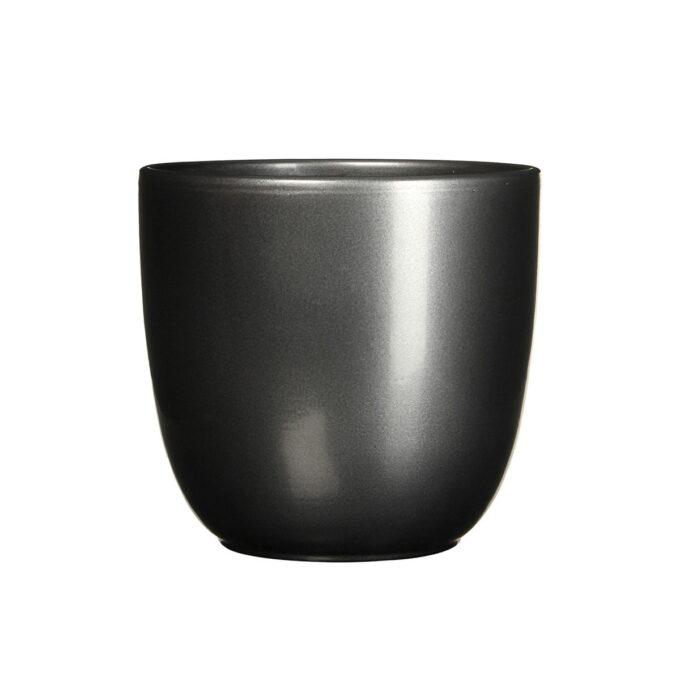 sort blank blomsterpotte 28 cm