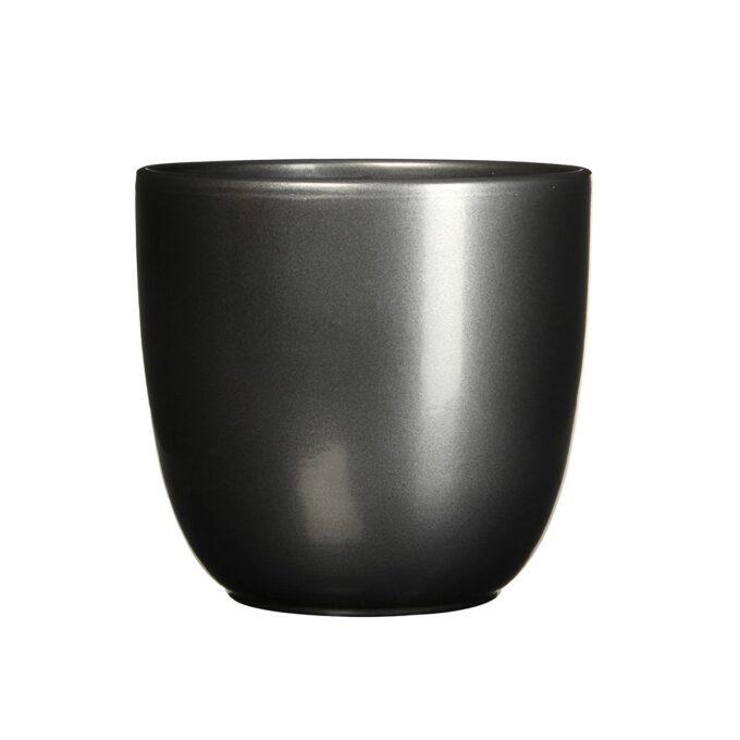 sort blank blomsterpotte 31 cm
