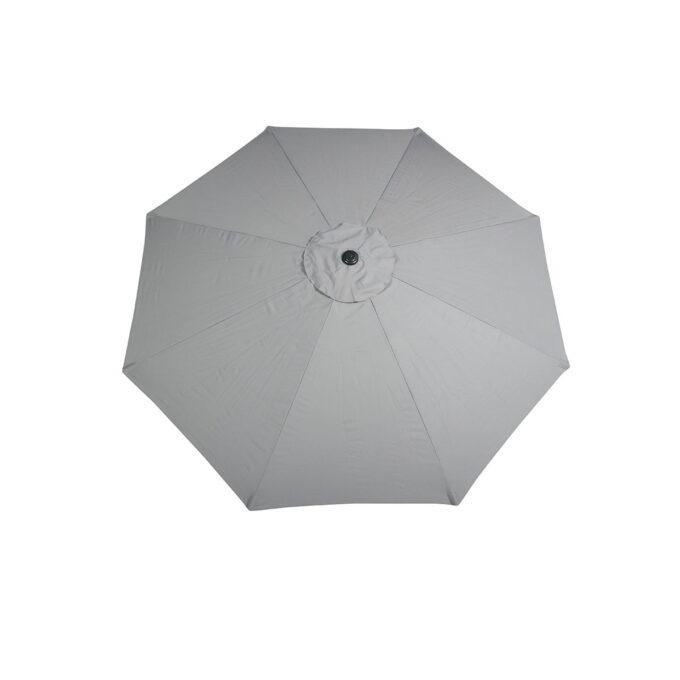 california parasoll lys grå