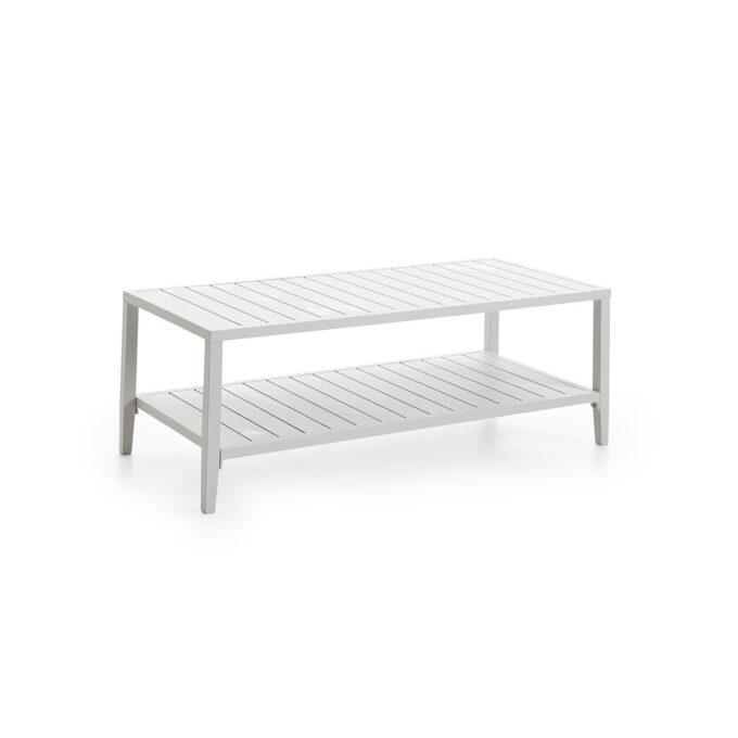 Sofabord med praktisk avlastningshylle under.
