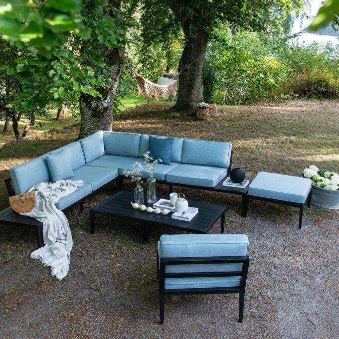 coaldale modulgruppe blå, med bord