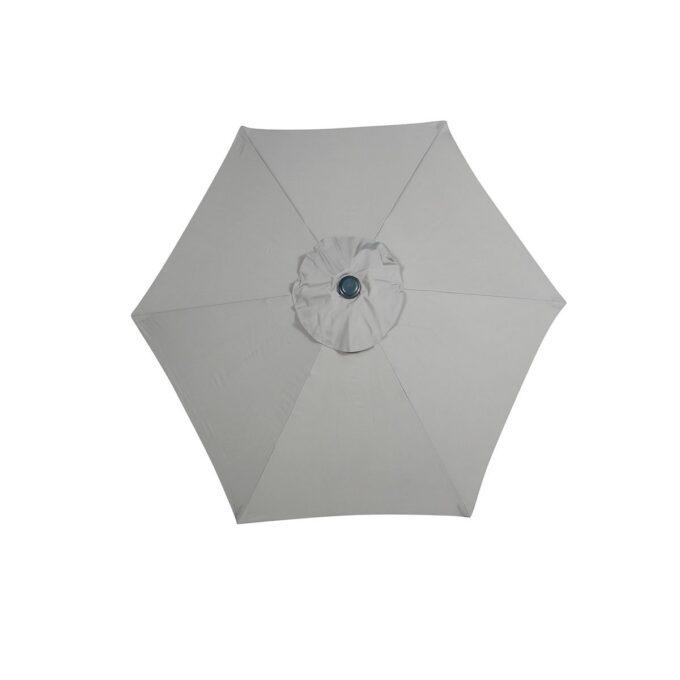 florida parasoll lys grå