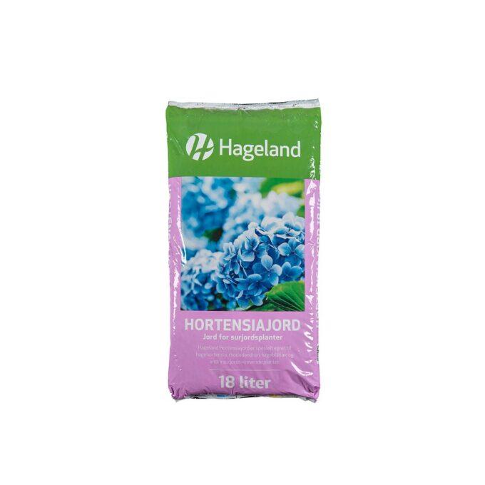 pose med Hageland hortensiajord 18 liter