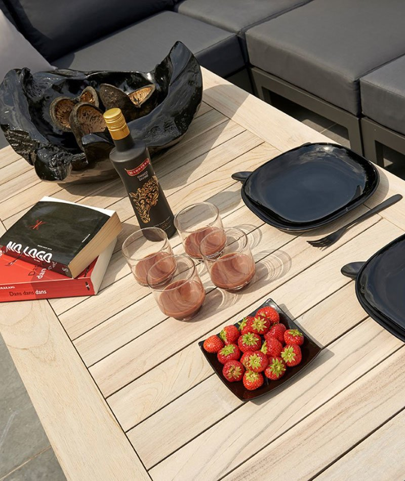 Dekket Life Timber lounge Lava-bord