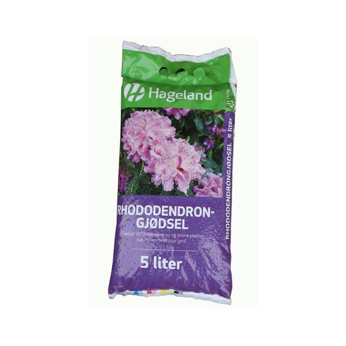 Hageland Organisk Gjødsel til Rhododendron og surjordsplanter 5 Liter