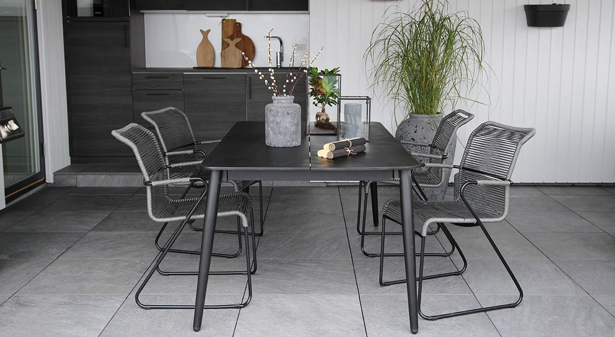 Spisegruppe Formosa stol bord