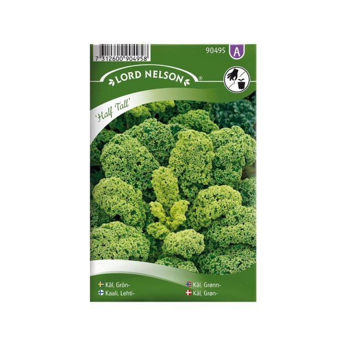 Halvhøy grønnkål Half Tall - frø fra Nelson Garden