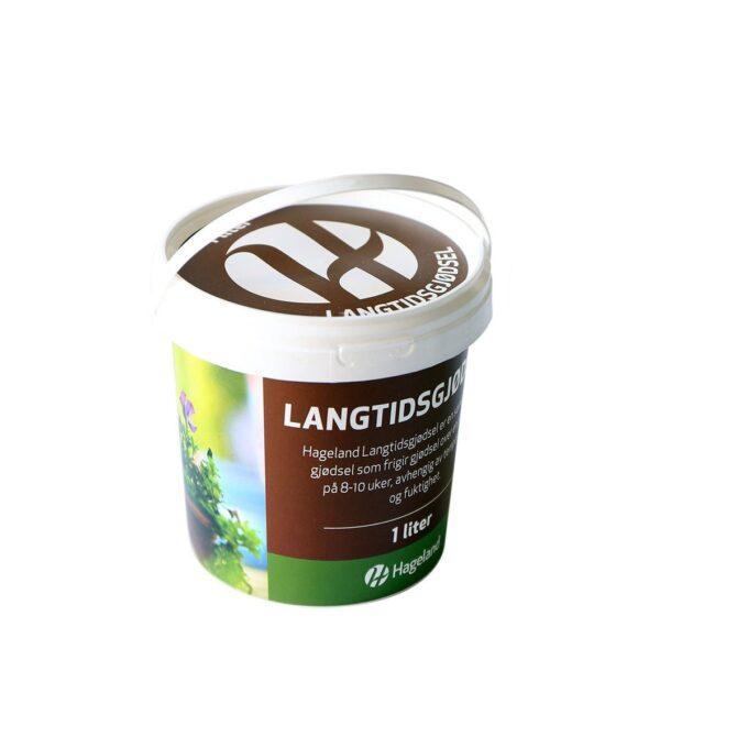 spann med Hageland langtidsgjødsel 1 liter