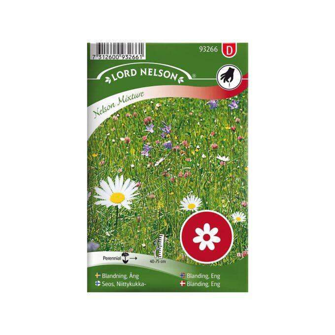 frøpakke Mix, Engblomster - frø fra Nelson Garden