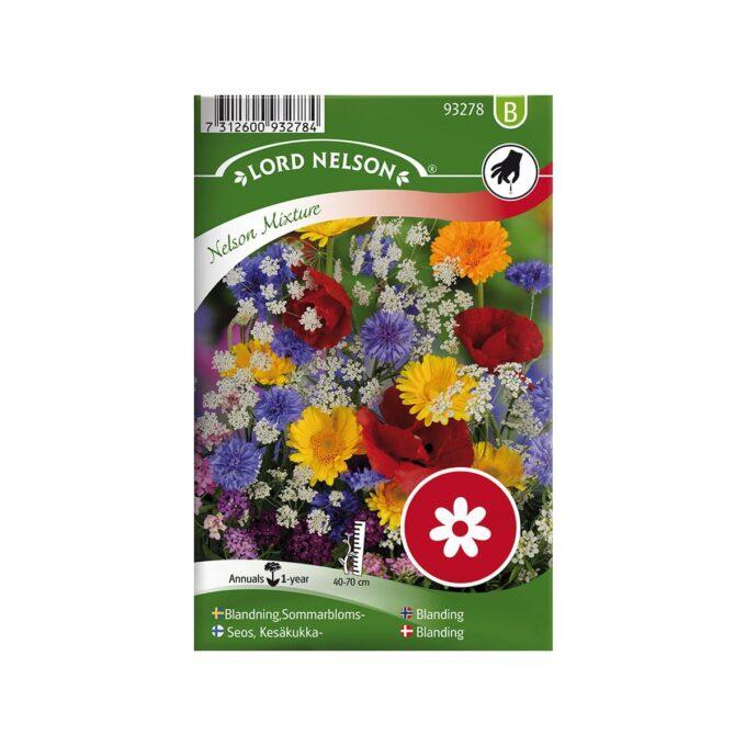 frøpakke Mix, sommerblomster - frø fra Nelson Garden