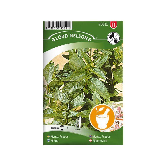 Peppermynte - frø fra Nelson Garden