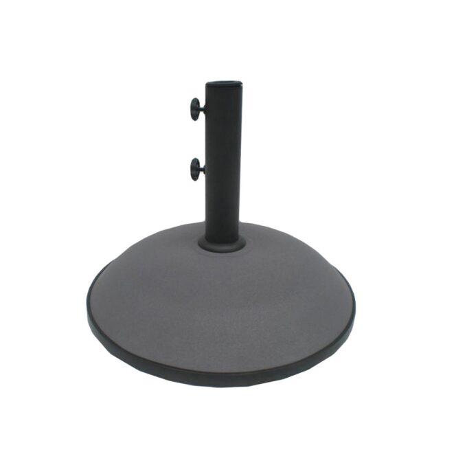 mørk grå parasollfot 30 kg