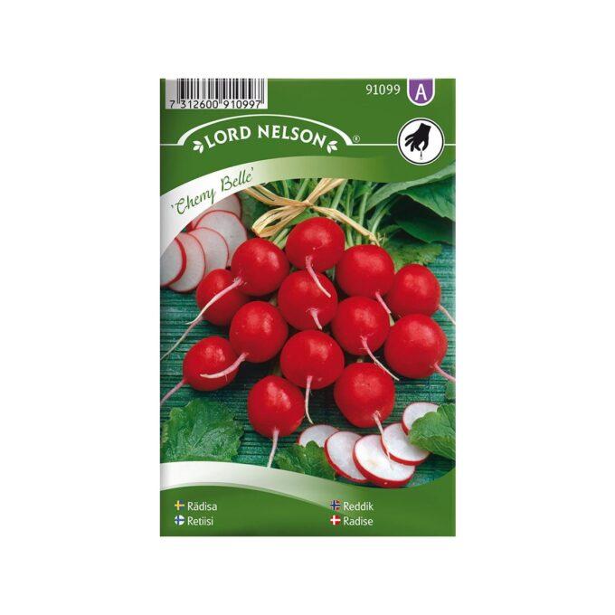 Reddik Cherry Belle - frø fra Nelson Garden