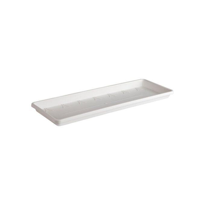 skål til verandakasse, hvit 70 cm