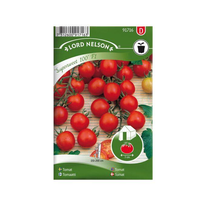 Cocktail Supersweet - tomatfrø fra Nelson Garden