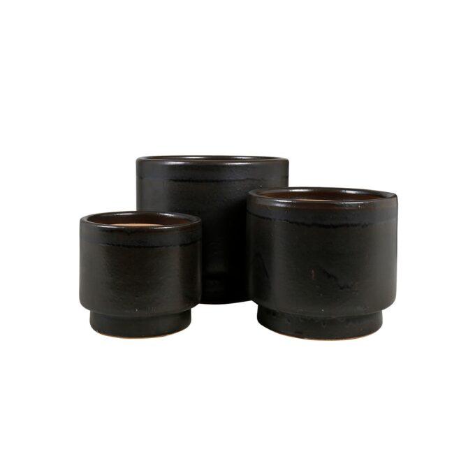Calisto utepotter i keramikk - galantgrå farge