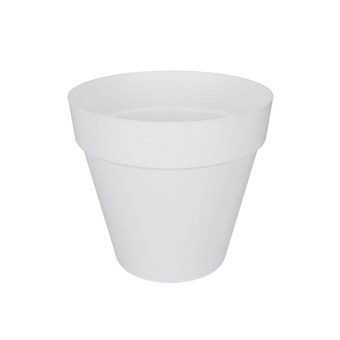 utepotte plast hvit 30 cm