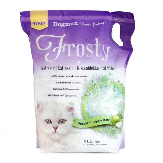 Frosty kattesand, 5 liter, fra Dogman