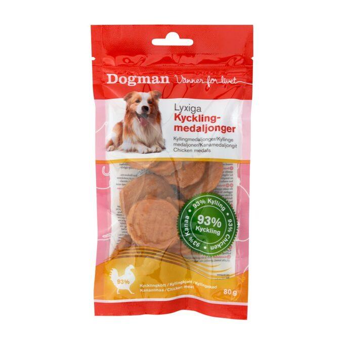 Kyllingmedaljonger fra Dogman