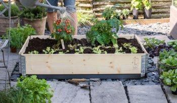 Plantekasser og pallekarmer