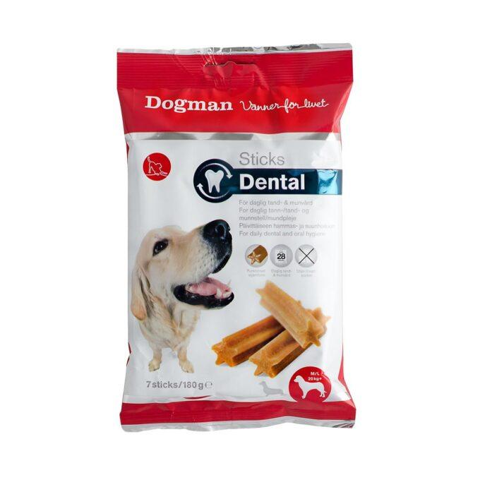 Tannrensende tyggesnacks til hund - fra Dogman