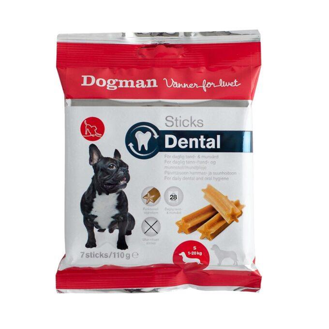 Tannrensende snacks til hund, størrelse small