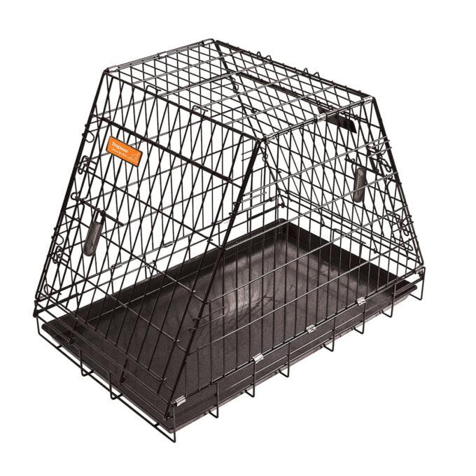 Pyramidebur i stål til hund