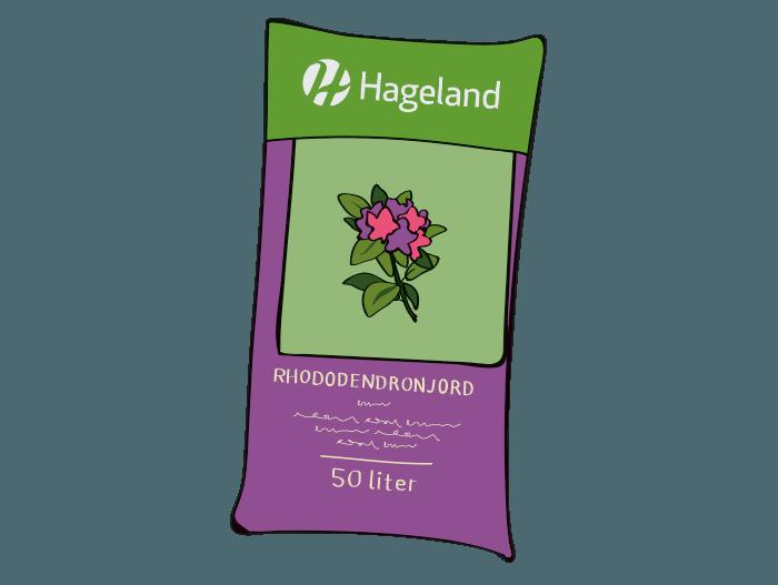 Hageland Hagekartoteket - Spesialjord rhododendronjord