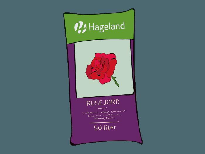 Hageland Hagekartoteket - Spesialjord rosejord