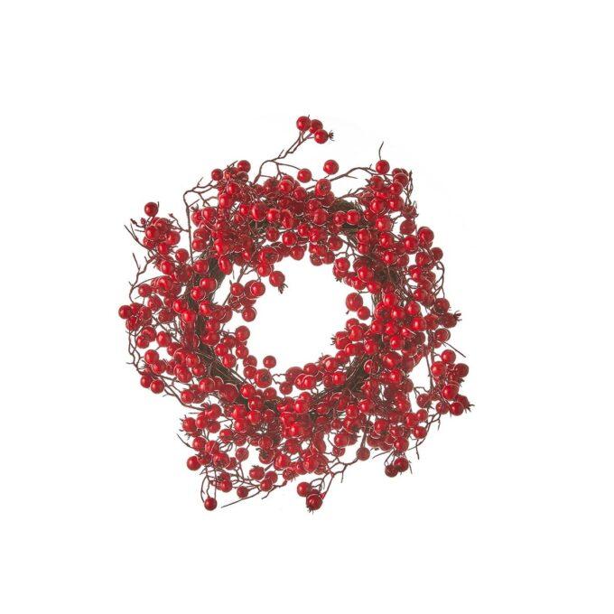 Dørkrans Stirling rød D40 cm