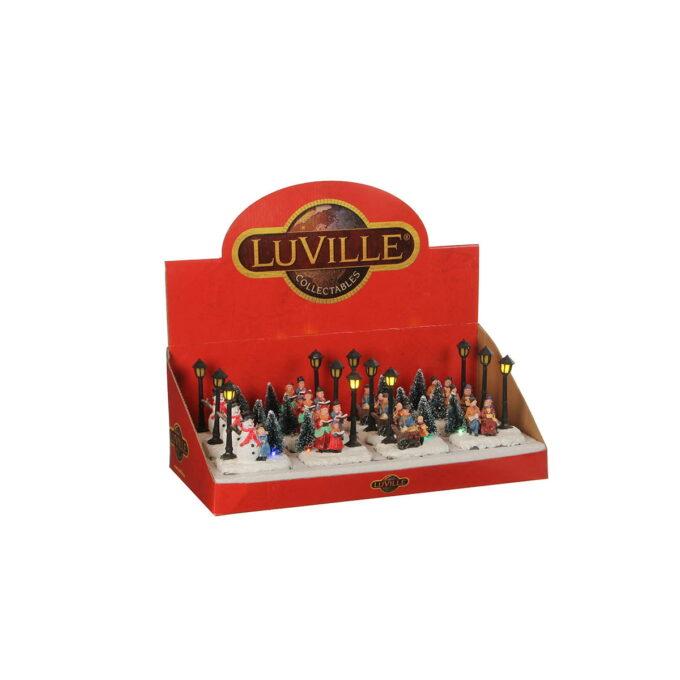 Julebyer med julesteming Kommer med lys, som skaper en god stemning Dette hører til Luville originaleserien, samleserien til Luville