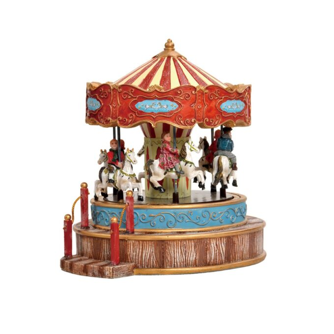 juleby karusell