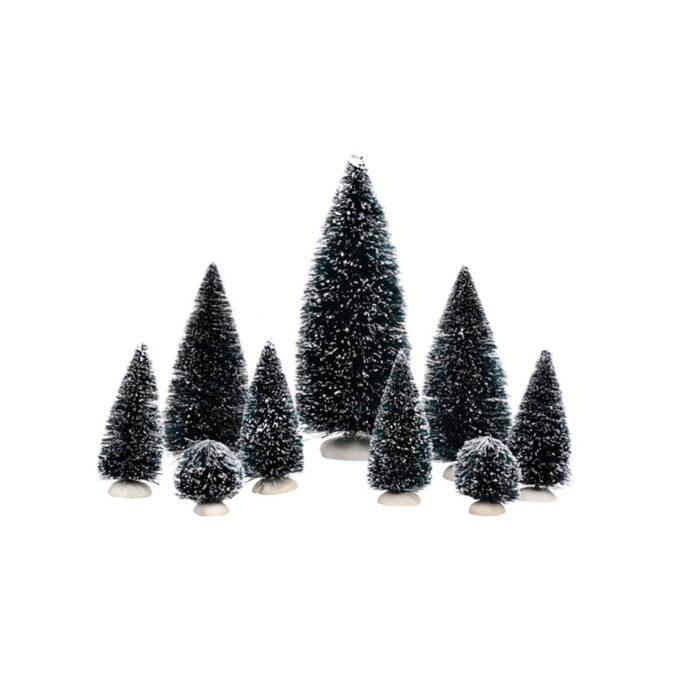 juleby trær 9 stk