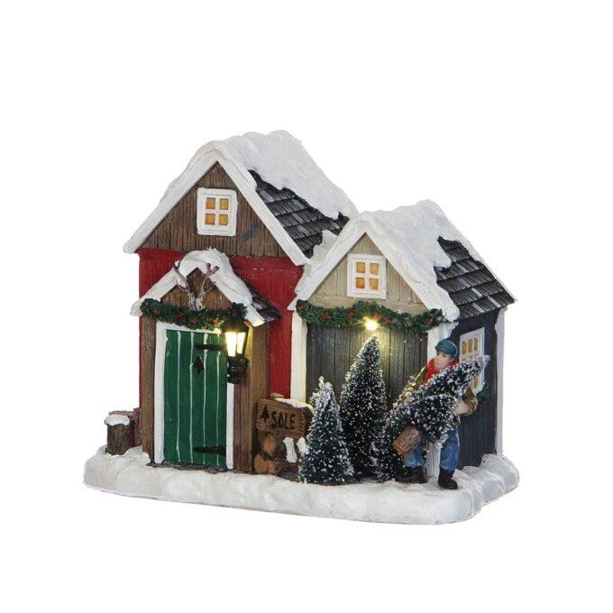Juleby treutsalg