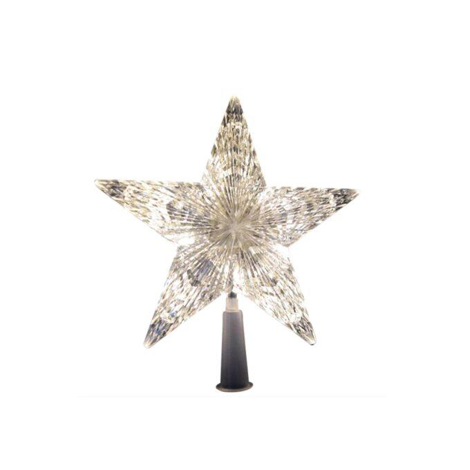 juletrestjerne med led