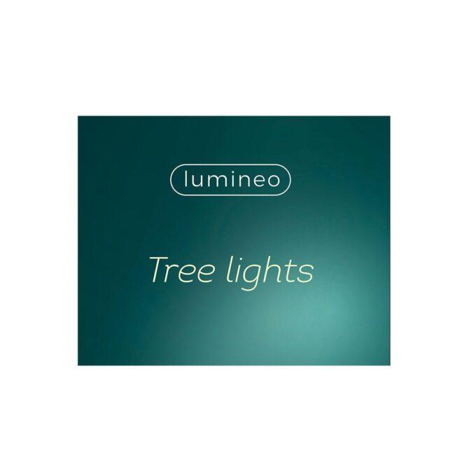 Juletrelys på batteri med klype 13,5 cm 10 lys