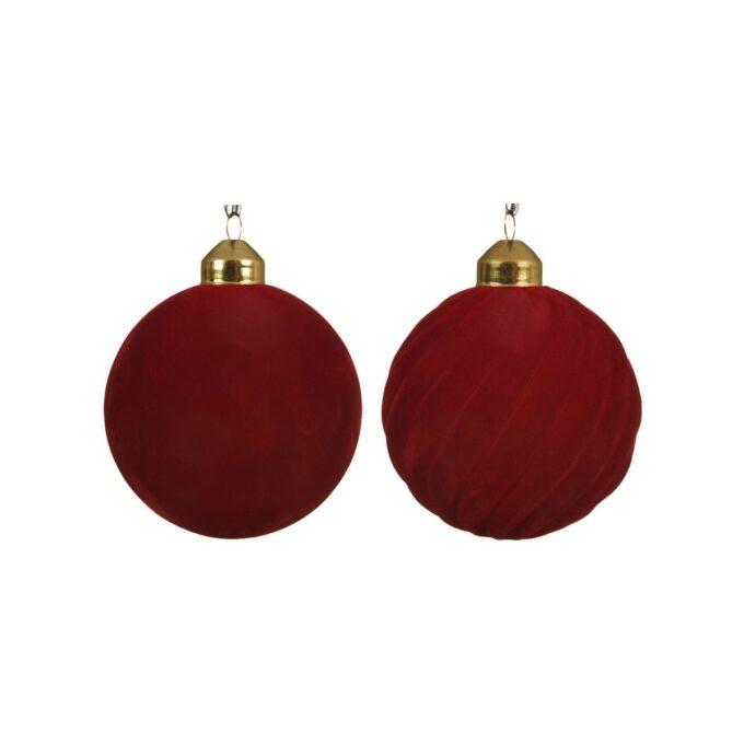 Julekule eksklusiv 3 pk rød