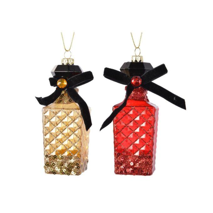 juletrepynt parfymeflasker