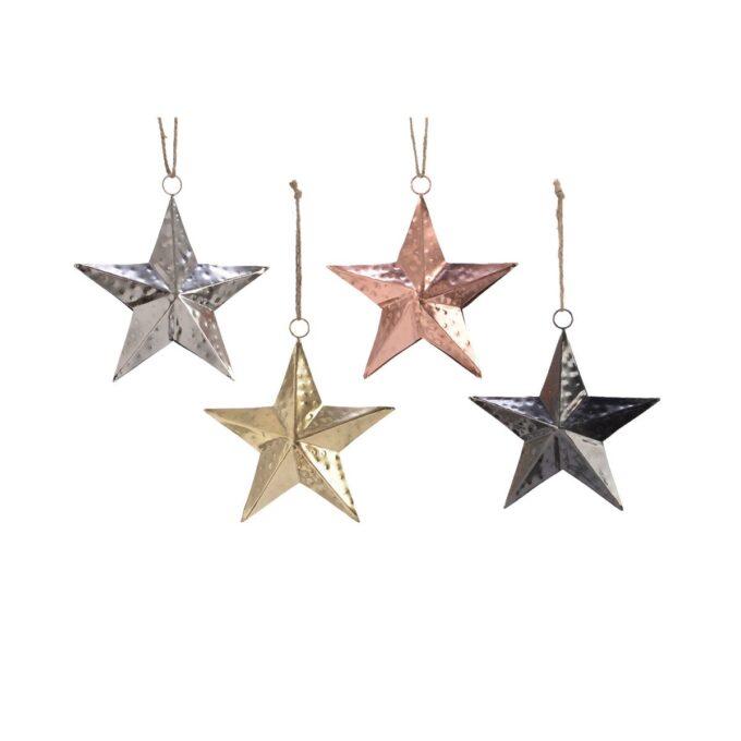 Julepynt stjerner