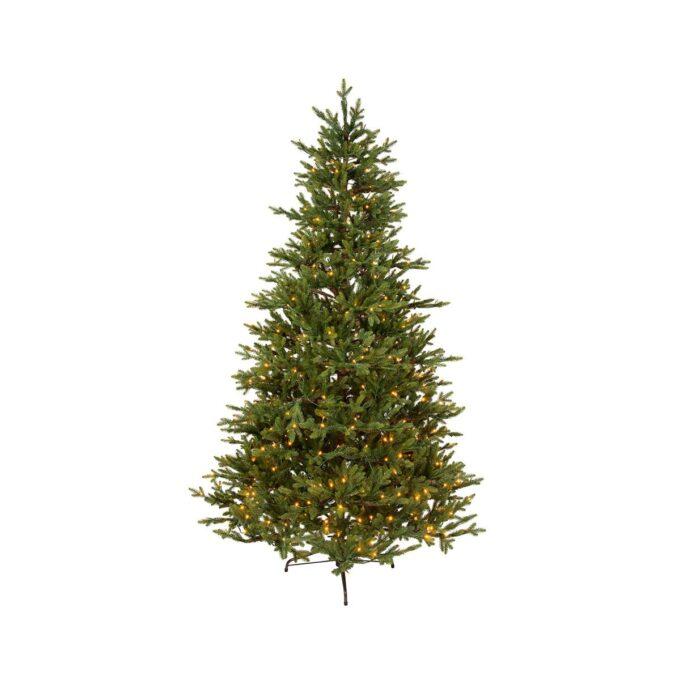 Kunstig juletre Granli delux med lys