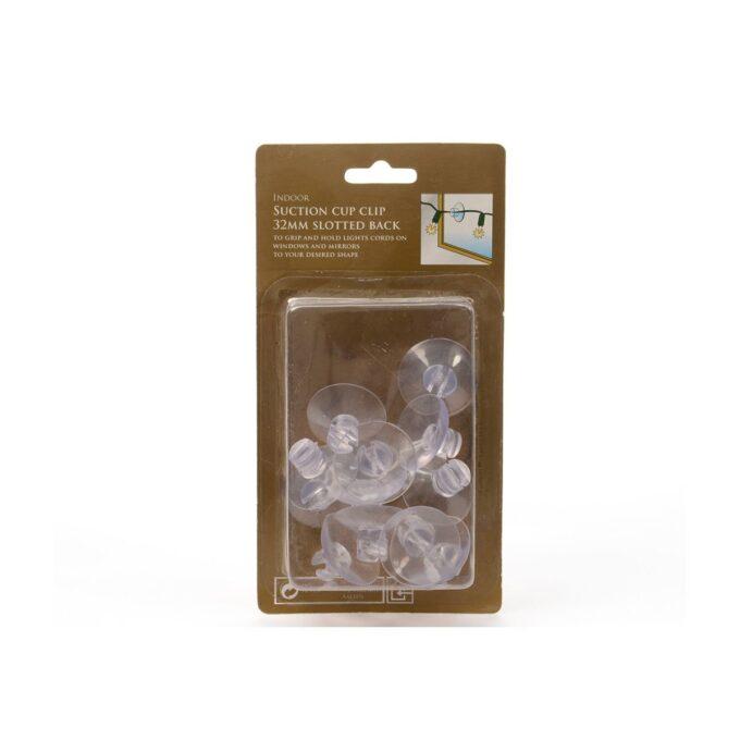 plastic suction cup clip 3.5x3.5x1.5cm
