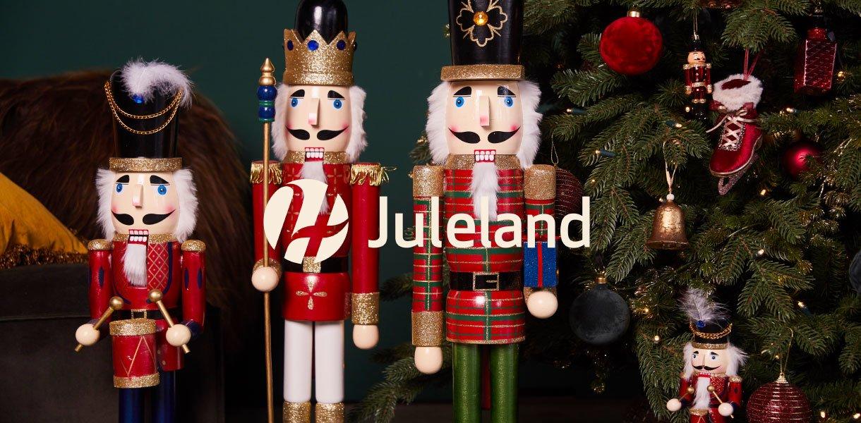 juleland 3 store nøtteknekker