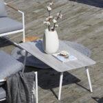 Dayton Bord 120x60cm - Hvit / Keramisk topp Hvit L120 B60 H44