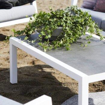 bord skylar Hvit aluminium Keramisk W120 D70 H50